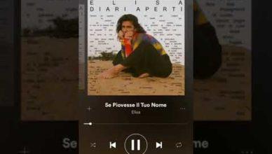 Elisa – Se Piovesse Il Tuo Nome (feat. Calcutta)
